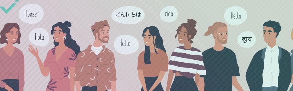 Setze muttersprachliche Übersetzer ein