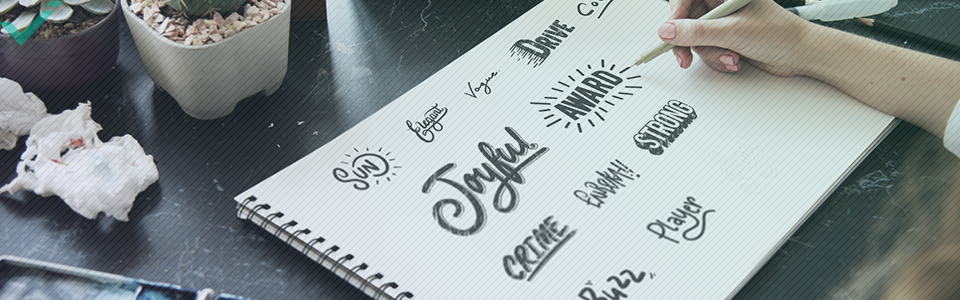 Lernen Sie Bilder für Social Media zu erstellen: Typografie
