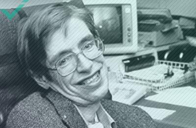 Stephen Hawking, un auteur, physicien théoricien et cosmologiste (1942-2018)