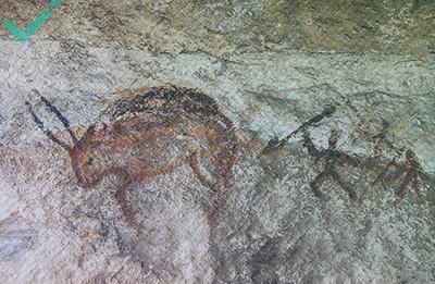 Étude: des peintures rupestres et l'origine du langage