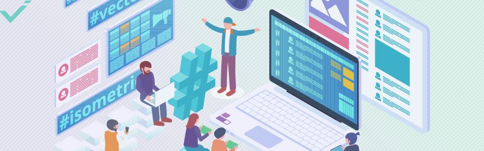 Utilisez des hashtags qui sont directement liés à votre entreprise et son contenu.