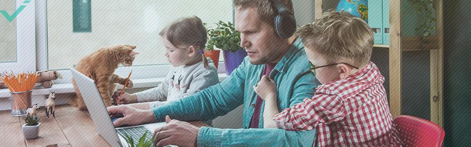 Wer leidet wegen der Arbeit im Homeoffice unter Burnout?